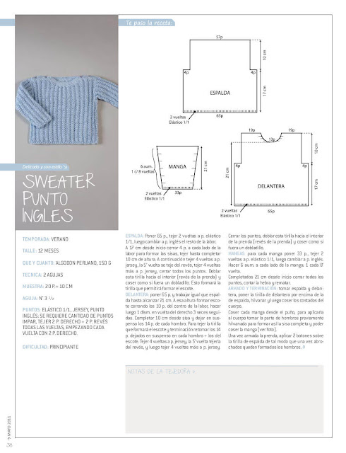 Esquema de suéter