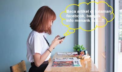 Kegunaan fanpage facebook untuk bisnis online