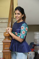 Eesha Looks super cute stunning in Denim Jeans and Top at Darsakudu movie Inerview ~  Exclusive 051.JPG