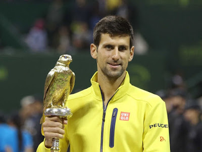 Novak Djokovic atp ranking 1