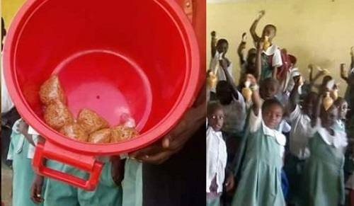 FG Free School Meal Served In Nylon in Delta
