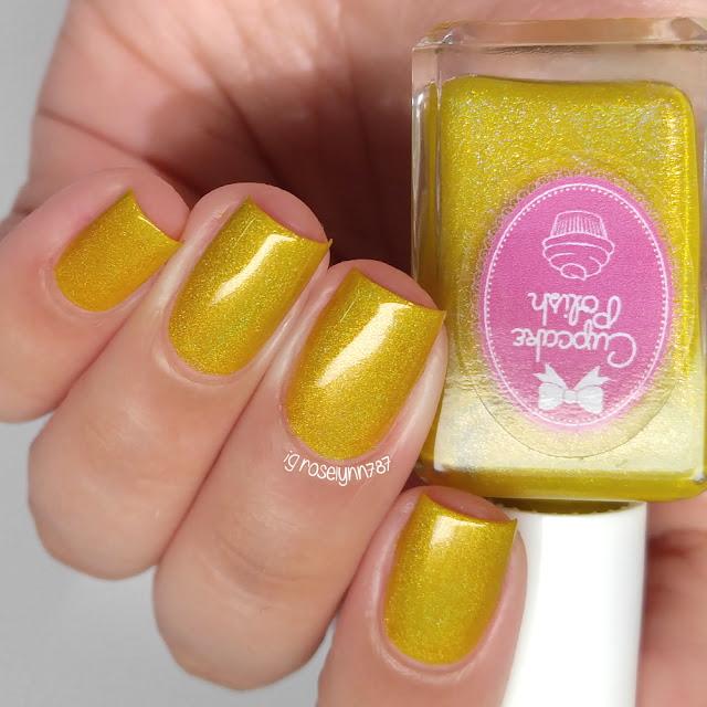 Cupcake Polish - Row Me to The Gold
