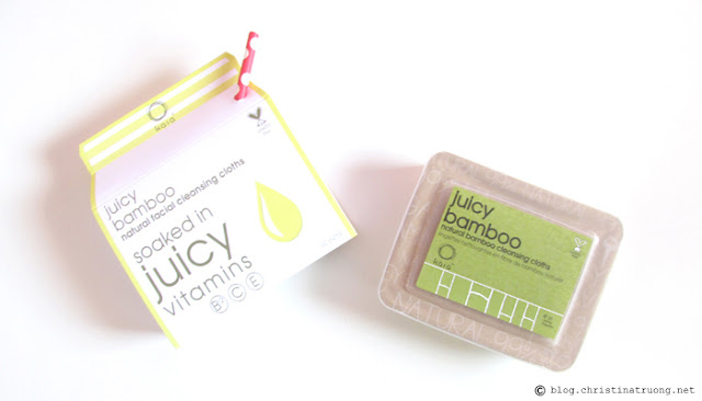 kaia naturals Juicy Bamboo Natural Facial Cleansing Cloths Review