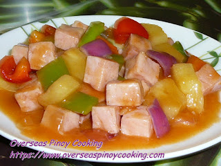Sweet and Sour Ham with Pineapple Recipe