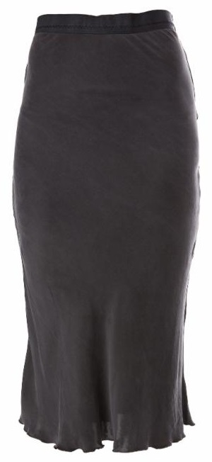 Ragdoll LA Slip Skirt in Vintage Black
