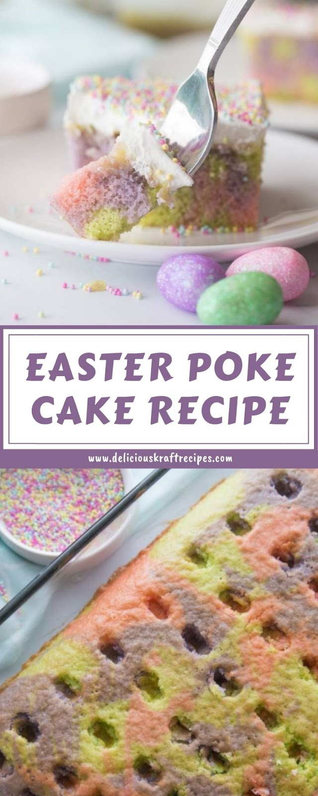 EASTER POKE CAKE RECIPE