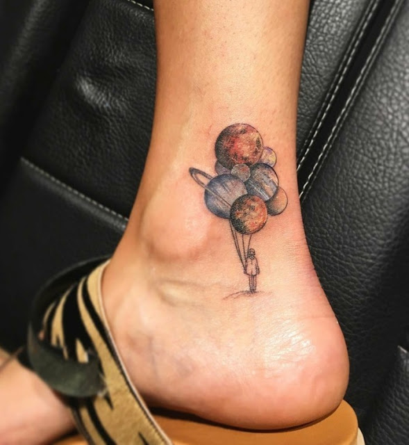 Tatuagens femininas para o tornozelo
