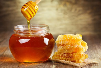 Honey in a pot