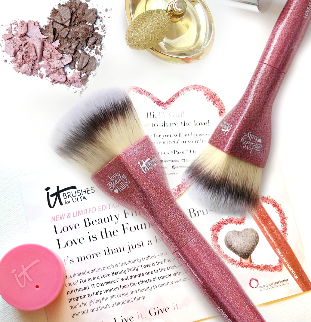IT's More Than A Makeup Brush With Itcosmetics Love Is The Foundation Brush By Top Beauty Blogger Barbie's Beauty Bits