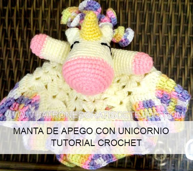 Compre Muñeca Amigurumi Unicornio Cascabel De Ganchillo Bebé ... | 575x647