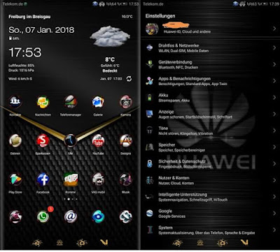Lets Rock theme for Huawei EMUI