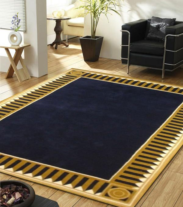 Karpet Klasik biru Navy