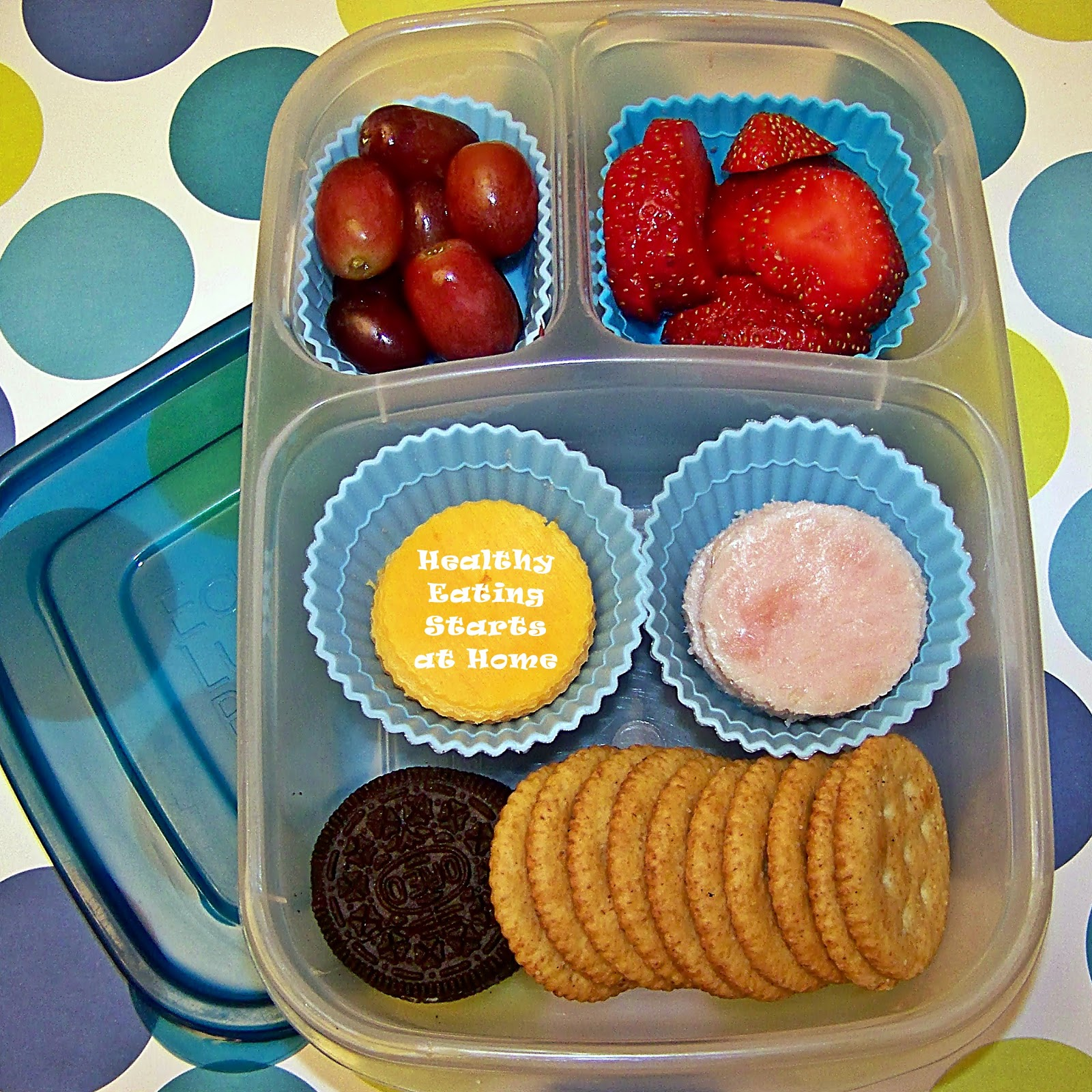 Healthy Eating Starts At Home DIY Cracker Lunchables