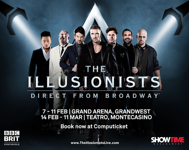 Best Selling Magic Show In Broadway History Heads to SA @Illusionists7 #ItsAnIllusion
