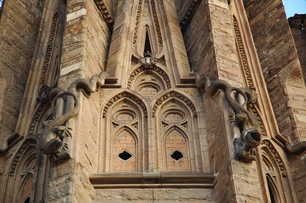Gaudi Lizards in Sagrada Familia