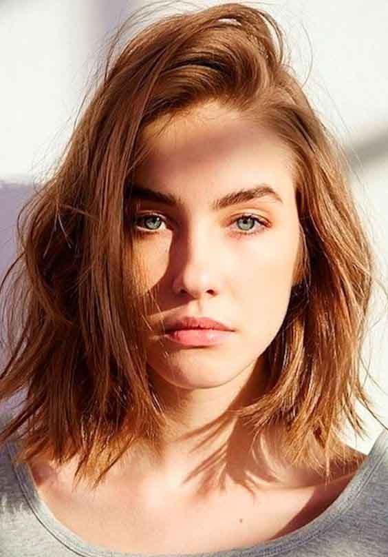 cabelo curto ruivo