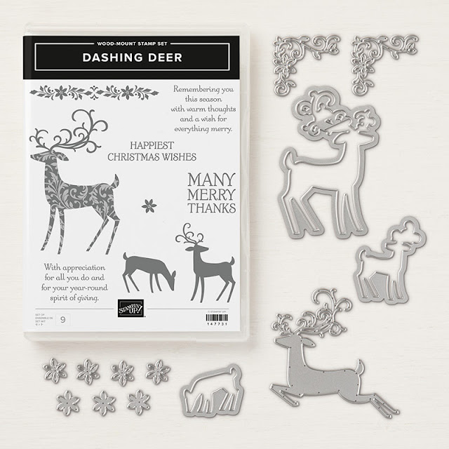 Dashing Deer from Stampin Up