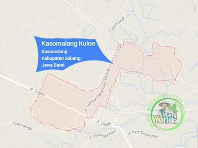 PETA : Desa Kasomalang Kulon, Kecamatan Kasomalang