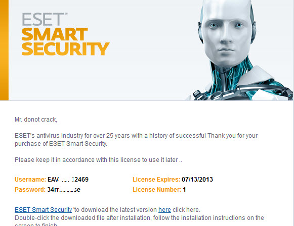 eset smart security 6 password