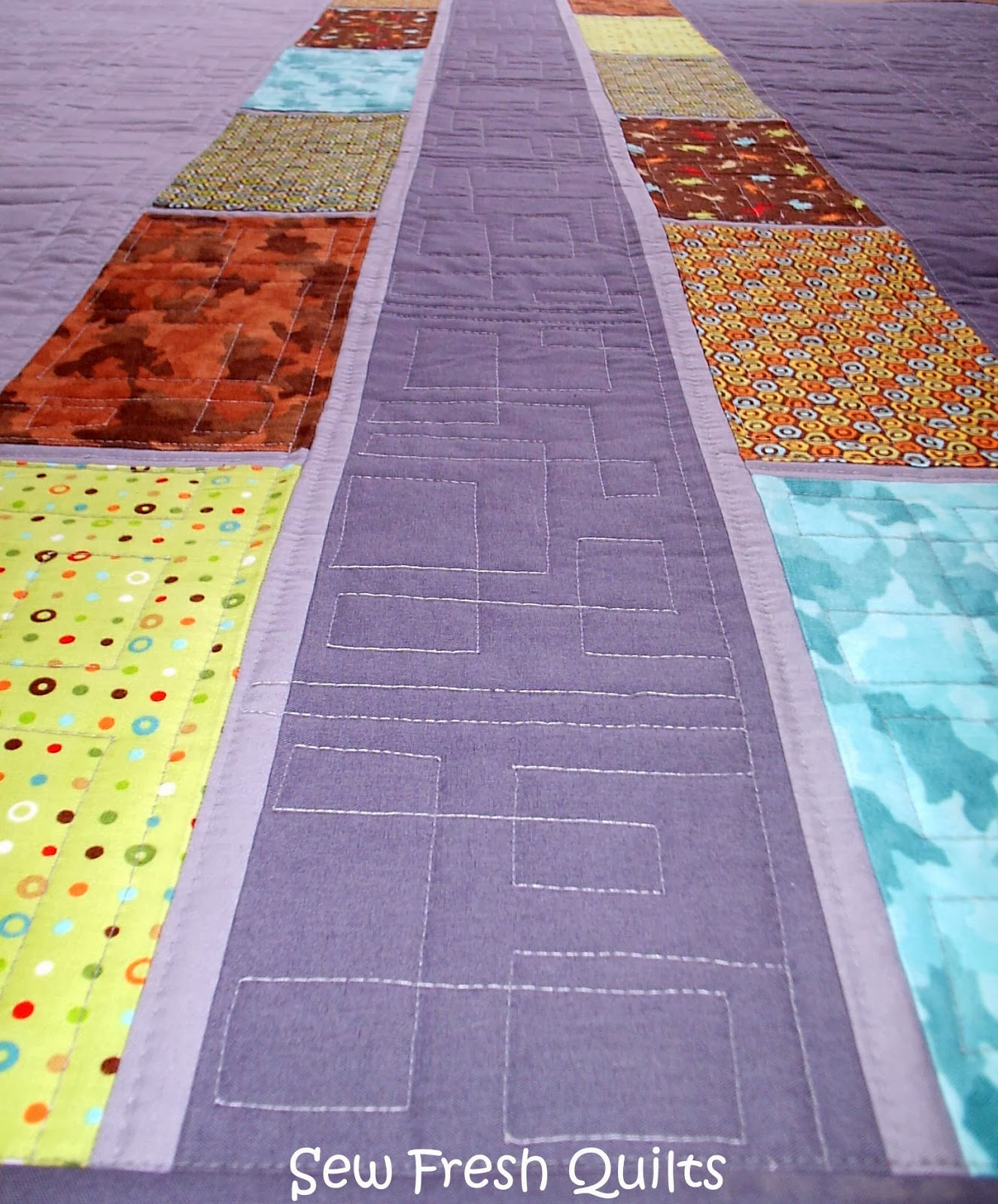 Sew Fresh Quilts Layer Cake Quilt Pattern