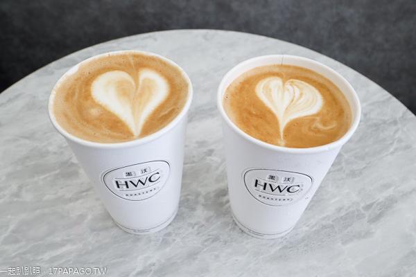 台中太平|黑沃咖啡太平中興店|平價咖啡也有拉花|太平國小旁
