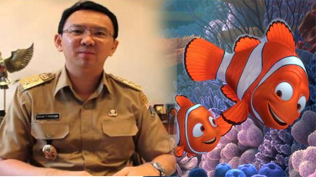 Pledoi Ahok : Saya Ibarat Ikan Nemo Yang Terus Berjuang Walau Tahu Resiko Dirinya Akan Mati