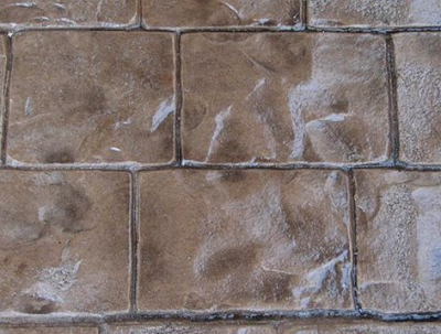 Fig.2. Stamped Concrete Finish similar to Stone Patterns