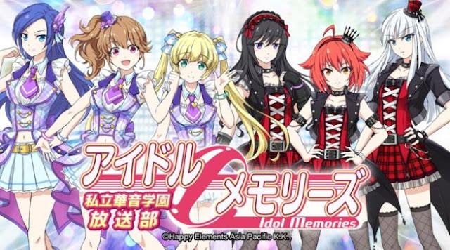 Idol Memories - Daftar Anime berkenaan Idol Terbaik