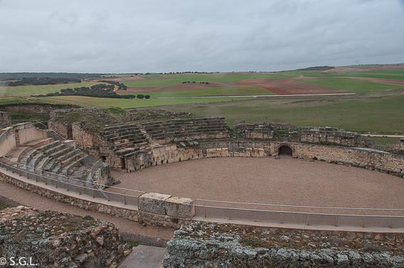 El anfiteatro de Segobriga. Ciudad romana de Cuenca