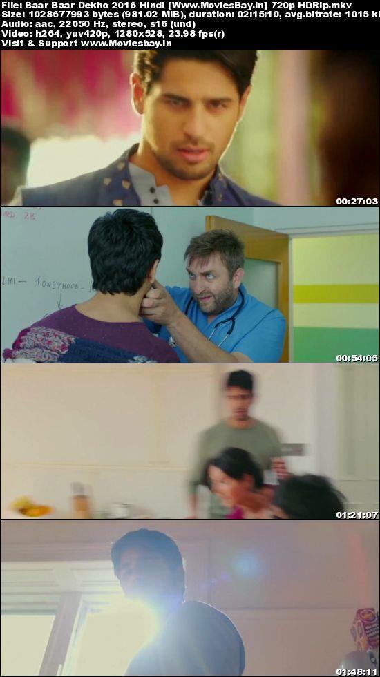 Baar Baar Dekho   Hindi Movie Watch Online HD. Download ...