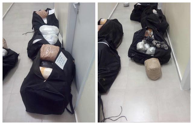 Θεσπρωτία: Συνελήφθησαν δύο άτομα στην Λεπτοκαρυά με 124 κιλά και 620 γρ. κάνναβης (+ΦΩΤΟ)