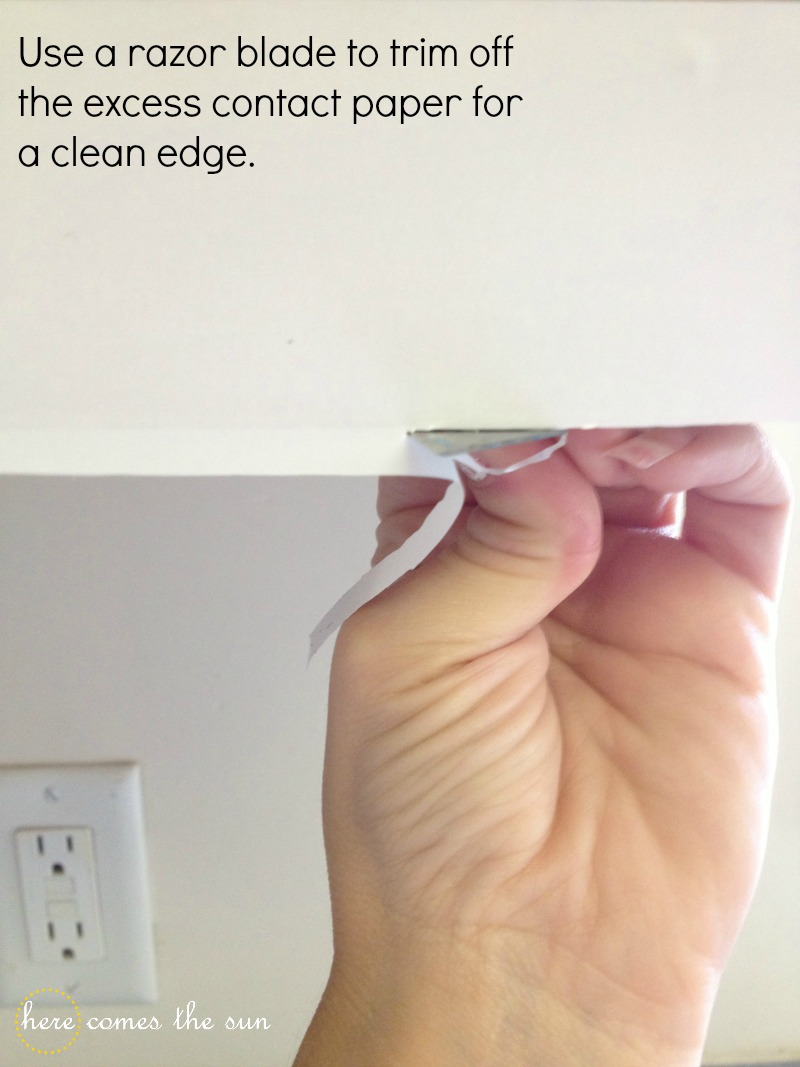 Update Your Cabinets With Contact Paper Tips Forrent