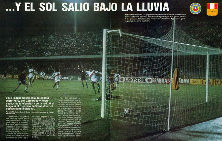 Chile y Perú en Copa América 1991, 8 de julio