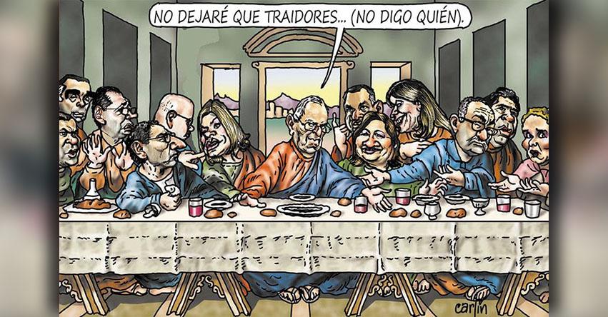 Carlincaturas Miércoles 14 Marzo 2018 - La República