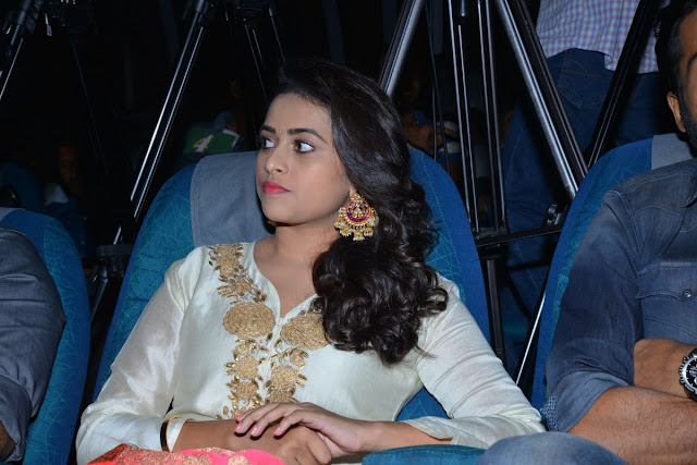 Actress Sri Divya at Kaashmora Telugu Movie Audio Launch