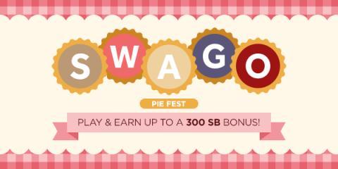 May Swago Pie Fest is here! 300 SB bonus