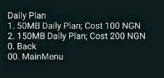 MTN: Latest  Data Plans and It's Prices 2017  Mtn_new_data