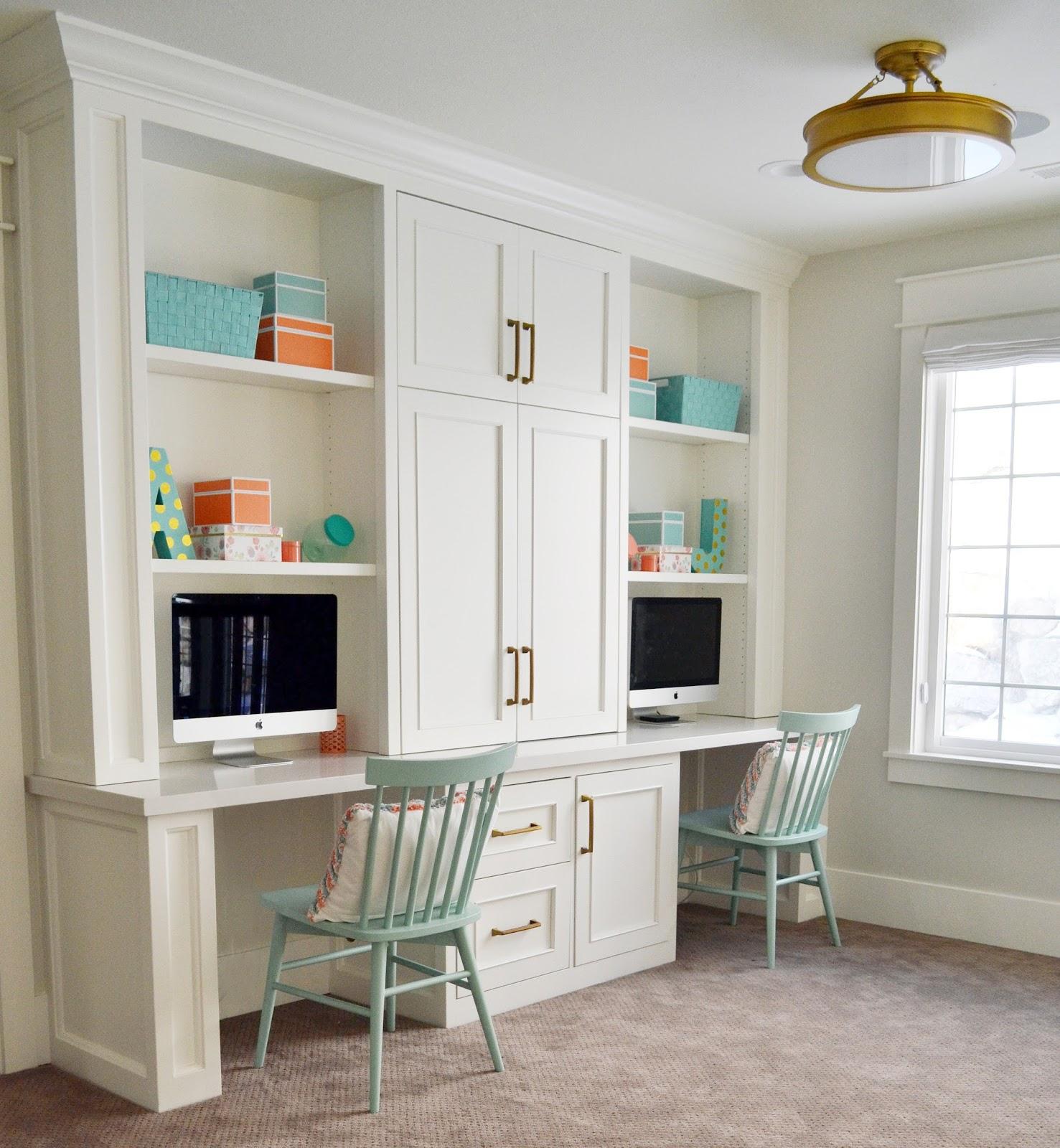 Home Office Room: Sita Montgomery Interiors: The Primrose Project Girls