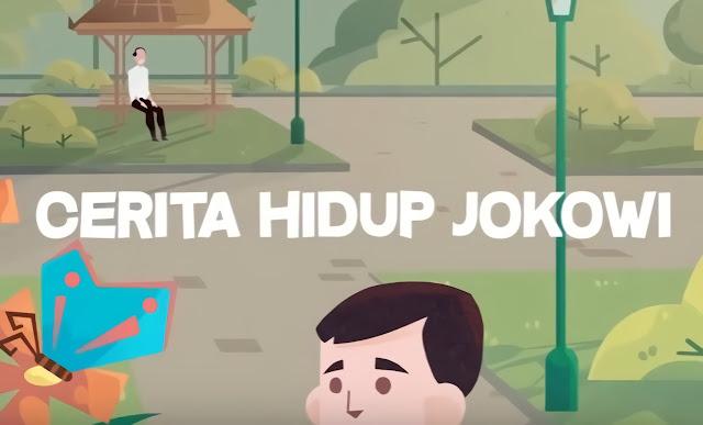 Bapak Presiden Jokowi Menceritakan Kisah Hidupnya Melalui Video di Youtube