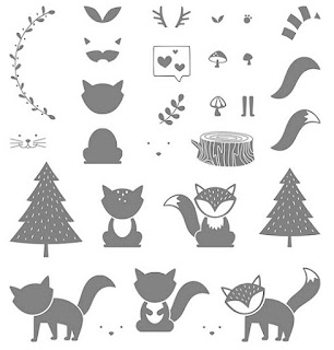 Take a look at the Foxy Friends stamp set by Stampin' Up!