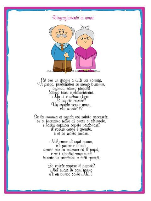 Amato Festa dei nonni - poesie storia immagini pensieri FR95