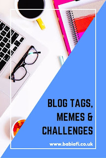 blog tags, memes and challenges