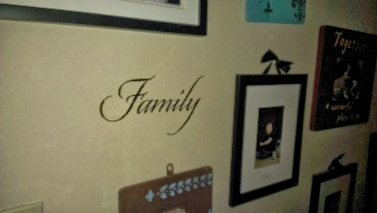 Wise decor family decal