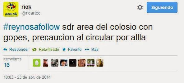 La guerra por Reynosa de la que solo las redes informan.