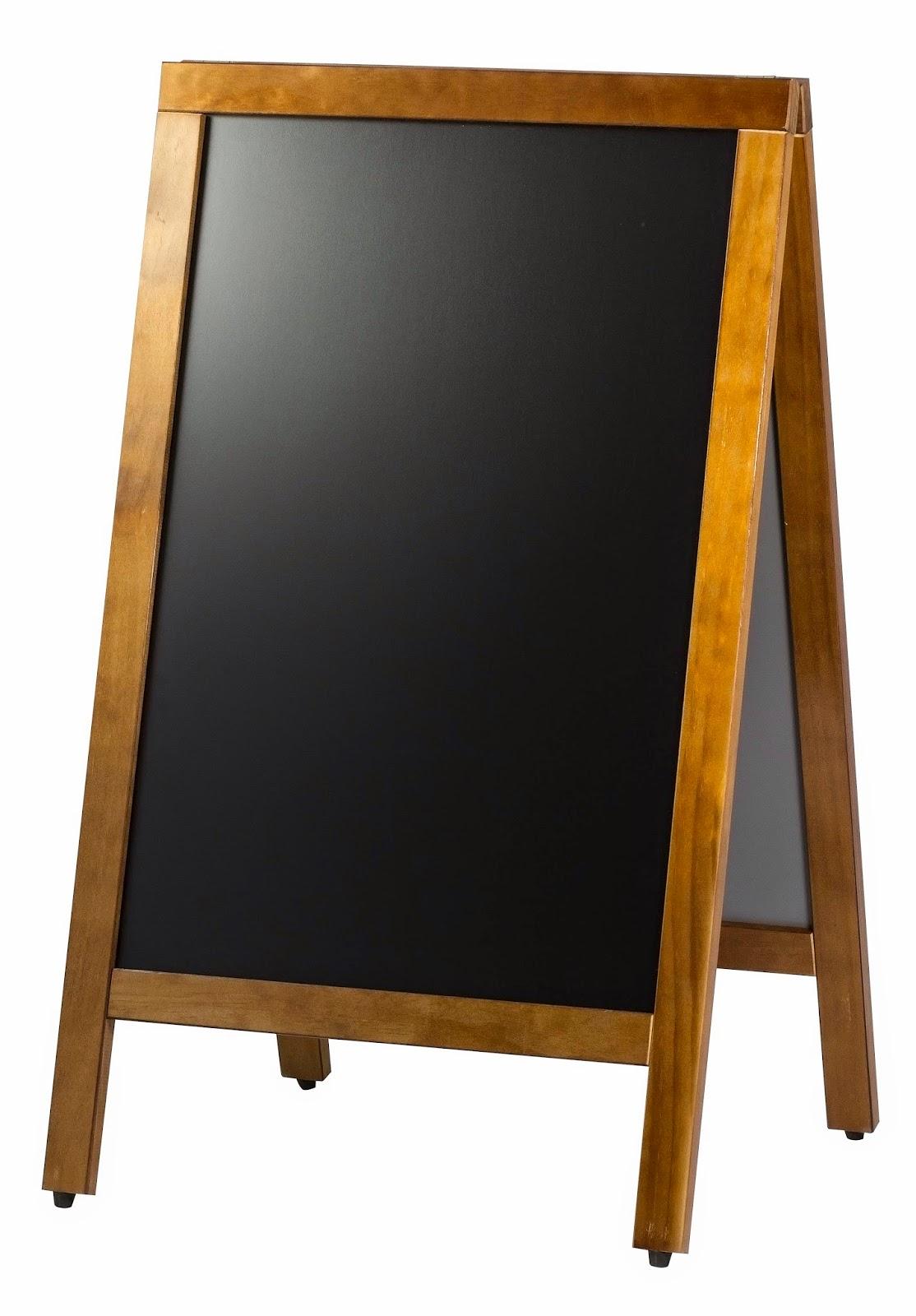 Tabla Neagra Stradala pentru Scris Meniul, Pret cu Redducere 320 RON, cu TVA, Tabla Profesionala Horeca, Accesorii pentru Restaurante, AmenajariHoreca