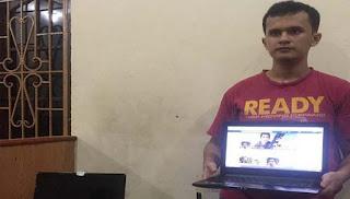 Kepolisian Tangkap Ringgo Abdillah yang Menghina Presiden Jokowi dan Kapolri