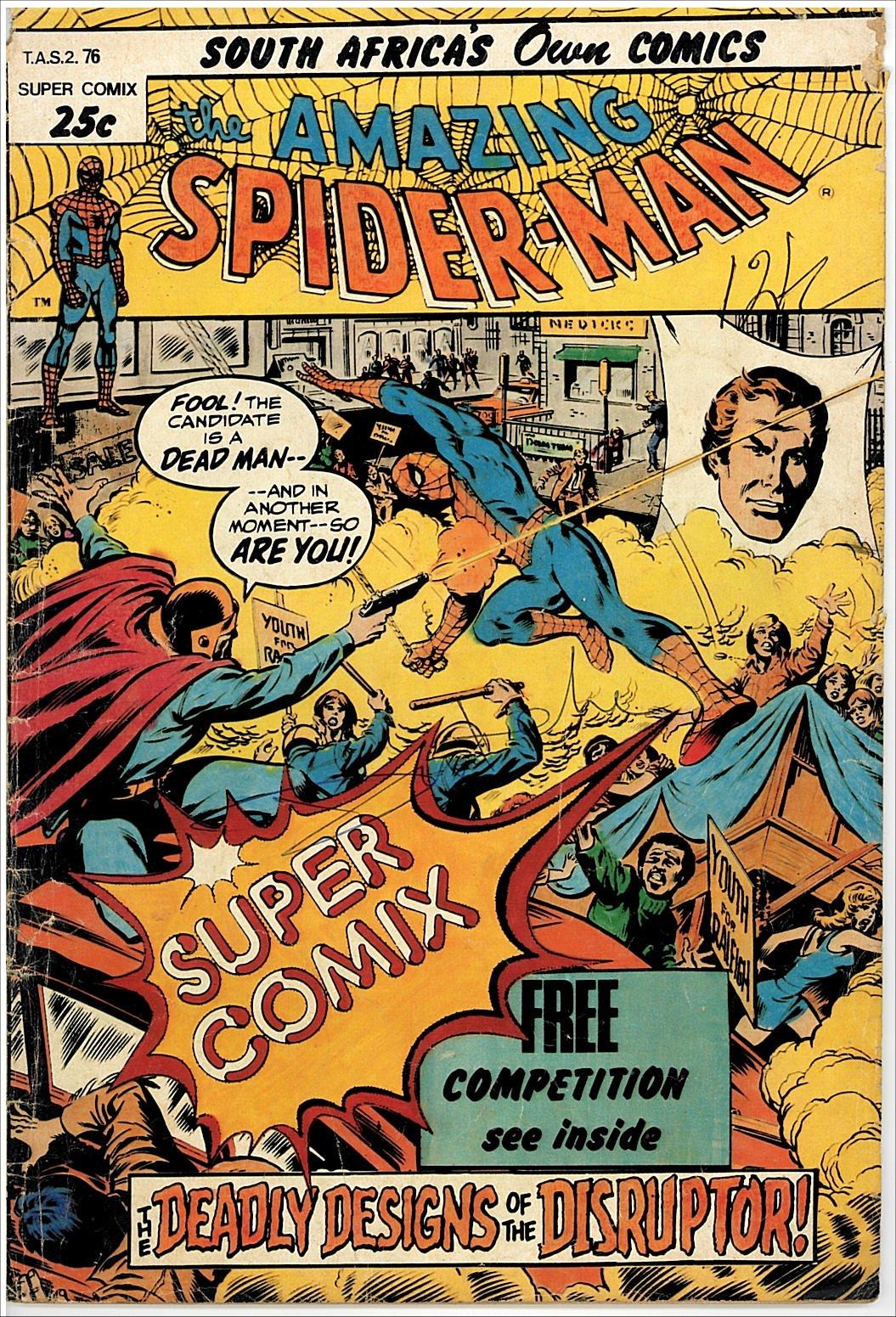 Spiderman Comic Serie