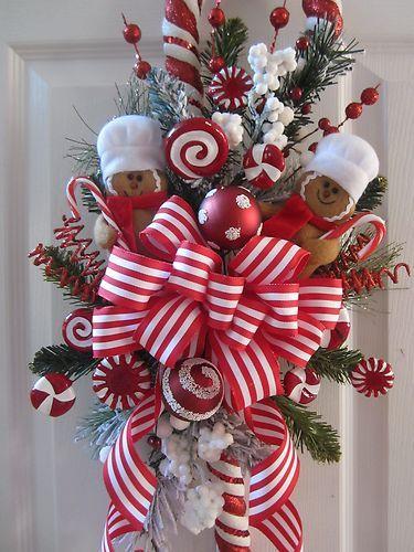 Tutorial haz mo os decorativos para decorar la puerta en - Adornos de navidad para las puertas ...