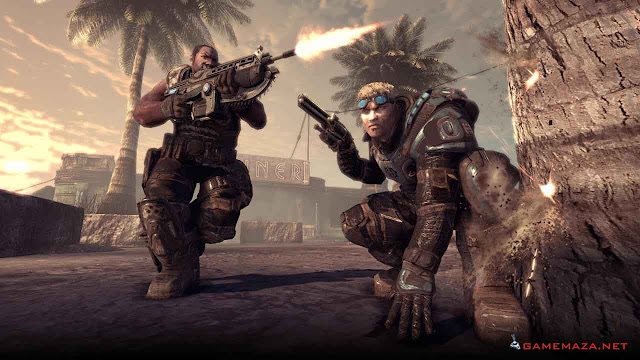 Gears of War 2 Gameplay Screenshot 3