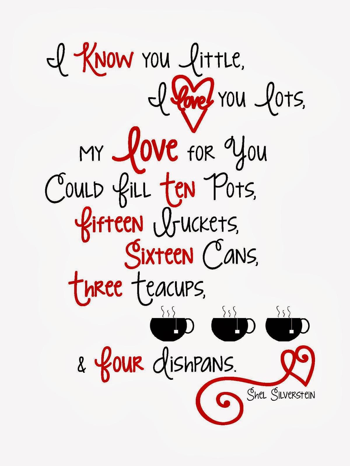 Sweet Blessings Free Valentine Printables